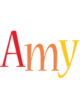 Amy birthday logo