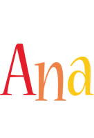 Ana birthday logo