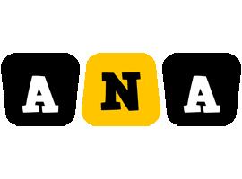 Ana boots logo