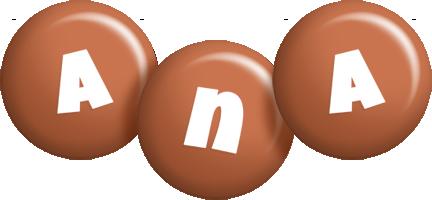 Ana candy-brown logo