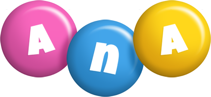 Ana candy logo