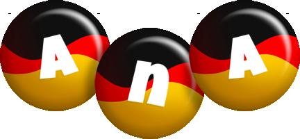 Ana german logo
