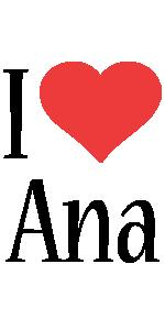 Ana i-love logo