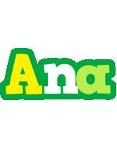 Ana soccer logo