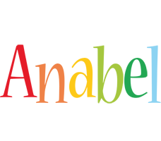 Anabel birthday logo