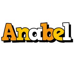 Anabel cartoon logo