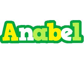 Anabel soccer logo