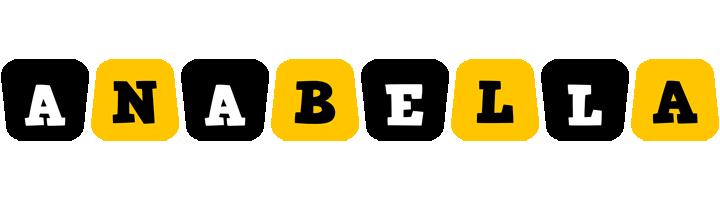 Anabella boots logo