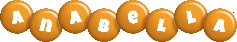 Anabella candy-orange logo