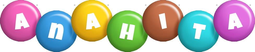 Anahita candy logo
