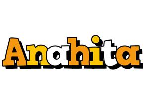 Anahita cartoon logo