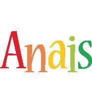 Anais birthday logo