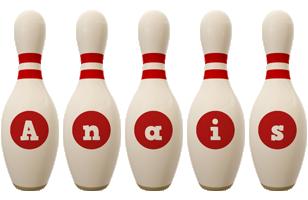 Anais bowling-pin logo