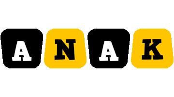 Anak boots logo