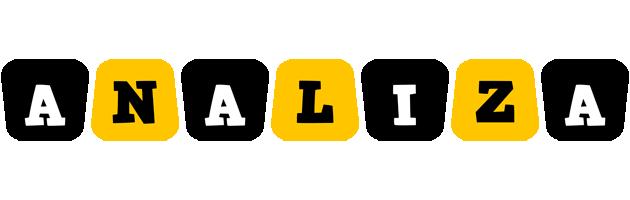 Analiza boots logo