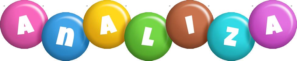 Analiza candy logo