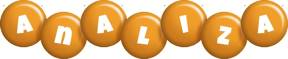 Analiza candy-orange logo