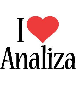Analiza i-love logo