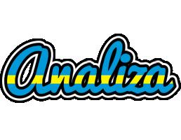 Analiza sweden logo