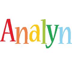 Analyn birthday logo