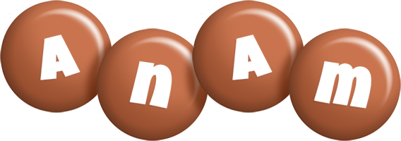 Anam candy-brown logo