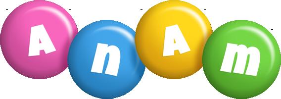 Anam candy logo