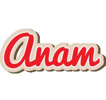 Anam chocolate logo