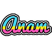 Anam circus logo