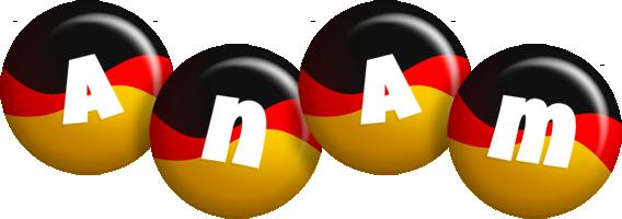 Anam german logo
