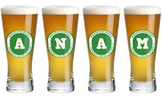 Anam lager logo