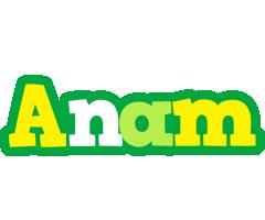 Anam soccer logo