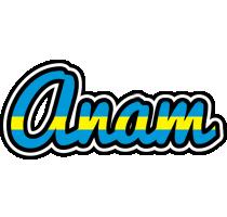 Anam sweden logo