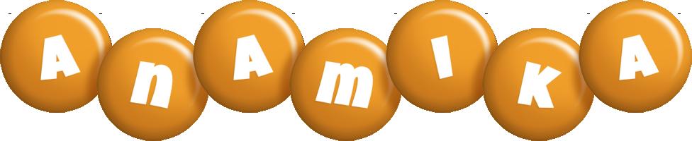Anamika candy-orange logo