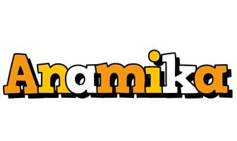 Anamika cartoon logo
