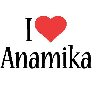 Anamika i-love logo