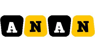 Anan boots logo