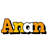 Anan cartoon logo