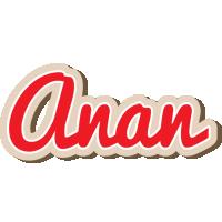 Anan chocolate logo