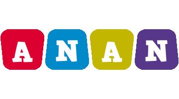 Anan daycare logo