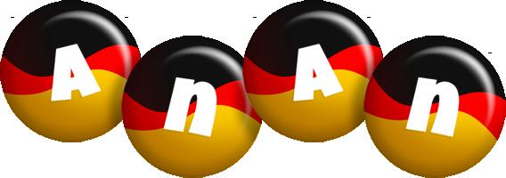 Anan german logo