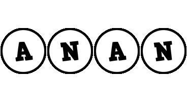 Anan handy logo