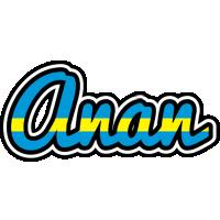 Anan sweden logo