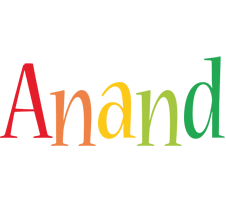 Anand birthday logo