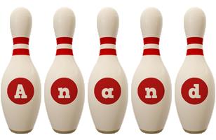 Anand bowling-pin logo