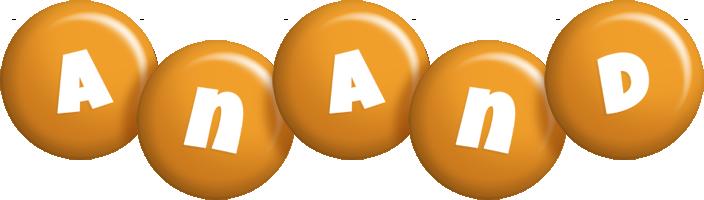 Anand candy-orange logo