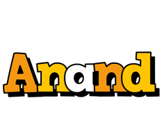 Anand cartoon logo