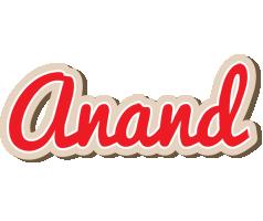 Anand chocolate logo