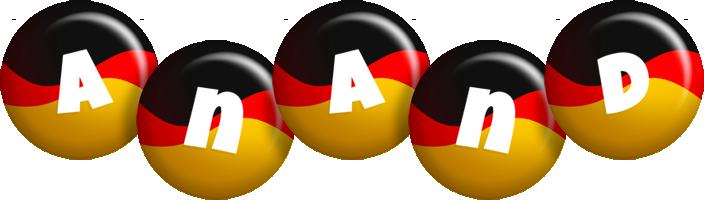 Anand german logo