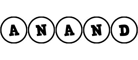 Anand handy logo