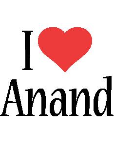 Anand i-love logo